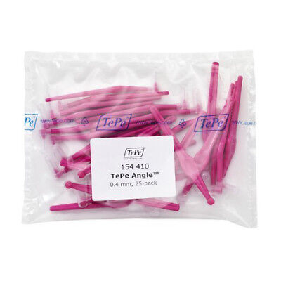 TePe Interdental Brush Angle - Pink 0.4mm Pack of 25  by TePe