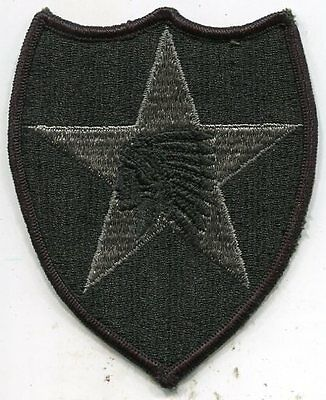 US Army 2nd Infantry Division Patch ACU