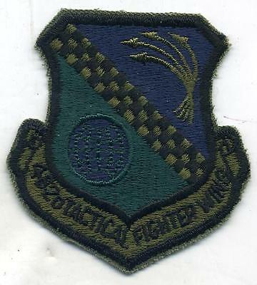 Vintage US Air Force USAF 482nd Tactical Fighter Wing Subdued Patch Cut Edge