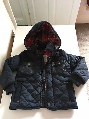Marks and Spencer Autograph Boys Coat, 12-18m
