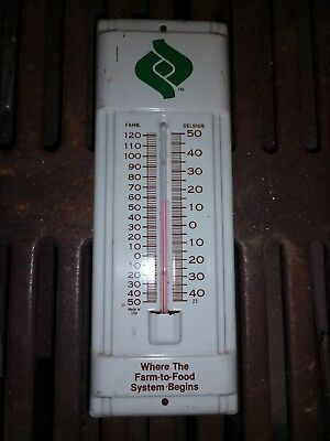 Vintage Land O Lakes Cenex Advertising Thermometer