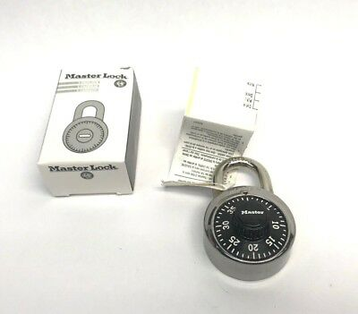 Genuine Master Lock Combination Padlock Model 1502, Lot of 99 Units