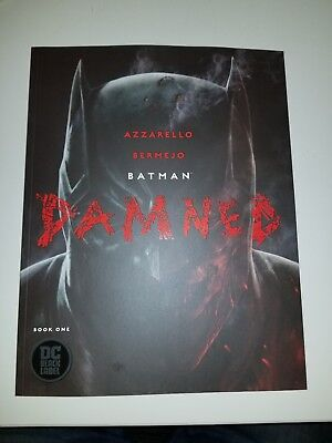 Batman Damned #1 First Print Uncensored NM Bermejo Cover (DC 2018)