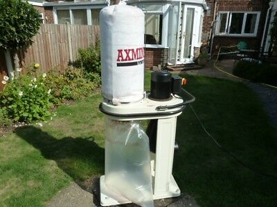 Axminster 2 bag dust extraction system