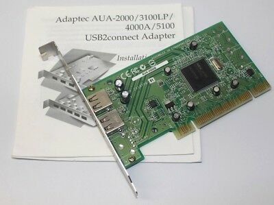 Adaptec USBConnect 2000 MSD Adapter Driver for Windows Mac