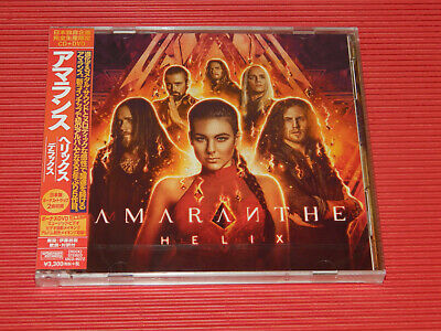 2018 Japan Cd Amaranthe Helix With Bonus Tracks + Dvd Edition