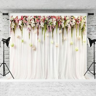KATE 7x5 Flower Backdrop Wedding/Showers/Baby Photography Photo Shoot