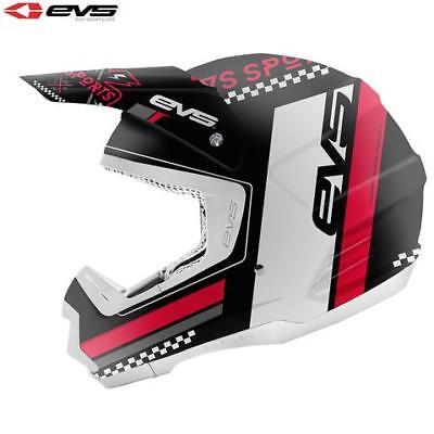 EVS Rally T5 Motocross MX Enduro Motor Bike Helmet - Large - CLEARANCE!