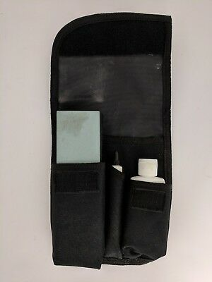 Gerber Knife & Tool Care Kit with Sheath, Fine Stone, and Oil 22-49420