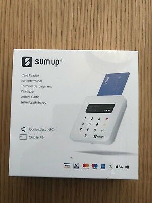 Sumup Sum Up Air Card Payment Reader - Debit Credit Card Machine - Brand New
