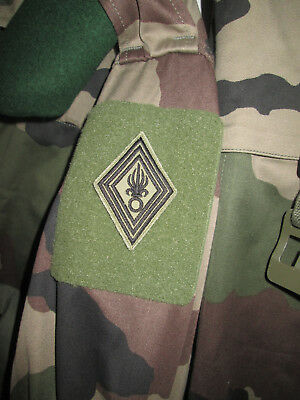 French Foreign Legion Etrangere -2 REP-patch MDR diamond-shaped  base visibility