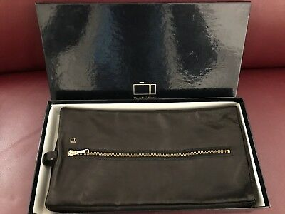 Beauty case in Pelle - Valextra Milano - Oggetto Vintage - Nuovo