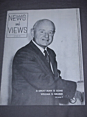 View Master News and Views Magazine 1965 William Gruber memorial issue