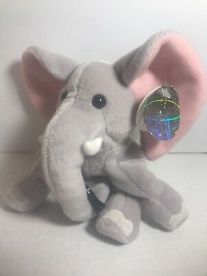 COCA COLA  Clomp the Elephant Kenya bean bag plush International collection