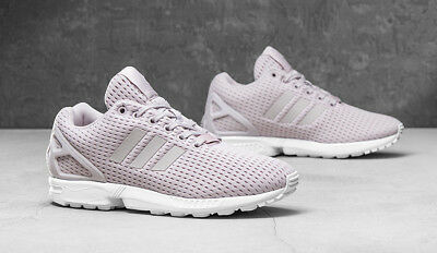 sports shoes 8f602 6e0ba Adidas Originals Womens Girls ZX FLUX Trainers Shoes Ice Purple UK 3.5,4.5,7