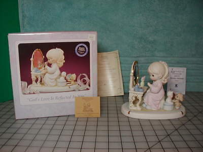 Precious Moments God's Love is Reflected in You Mint in Box Century Club limited