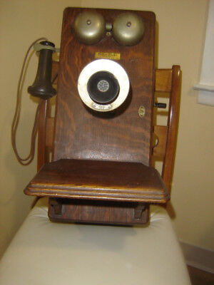 Western Electric Wall Telephone No.250~Antique~Oak