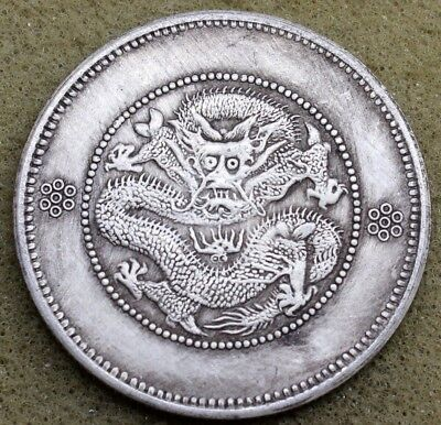China Yunnan 1911 50 Cents Silver Coin