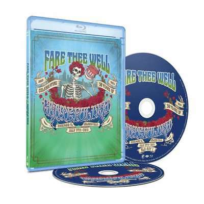 New: GRATEFUL DEAD - Fare Thee Well: July 5th,2015 (1965-2015) 2 DISC BLU-RAY!