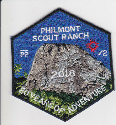 Philmont Scout Ranch * 2018 Patch * 80 Years Of Adventure