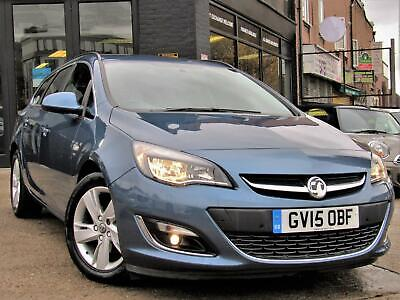 2015 Vauxhall Astra 2.0 Cdti Sri Sport Tourer (S/s) 5Dr Estate Manual Diesel Est