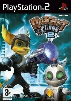 PS2 / Sony Playstation 2 Spiel - Ratchet & Clank 2: Locked and Loaded mit OVP