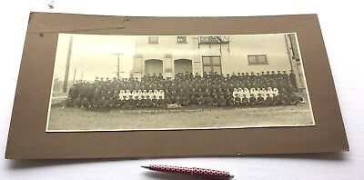 1918 Photo Wounded Canadian Soldiers WW1 Shaughnessy Military Hosp Vancouver BC