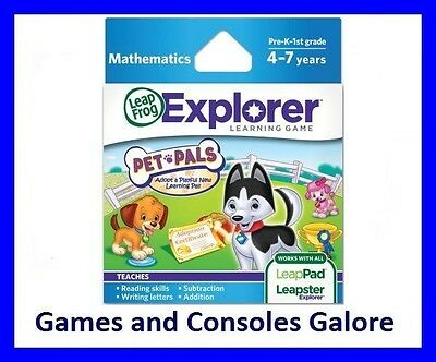 NEW Leap Pad Ultra Game, LeapPad, Leapster Explorer GS Pet Pals Game