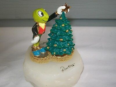 """1995 DISNEY LE 1009/1500 SIGNED RON LEE JIMINY CRICKET""""Wish Upon a Star"""""""