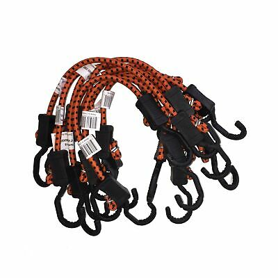 Kotap Adjustable 18-Inch Bungee Cords, 10-Piece, Item: MABC-18