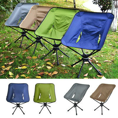 Fantastic Portable Folding 360 Degree Swivel Camping Chair Carry Bag Camellatalisay Diy Chair Ideas Camellatalisaycom
