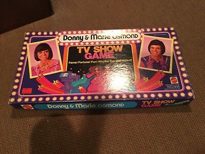 Donnie and Marie Osmond TV Show Game Complete