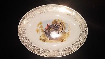 Knowles Turkey Oval Platter