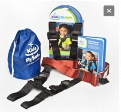 Kids CARES Airplane Safety Harness: Adds Shoulder Straps to Plane Seatbelt