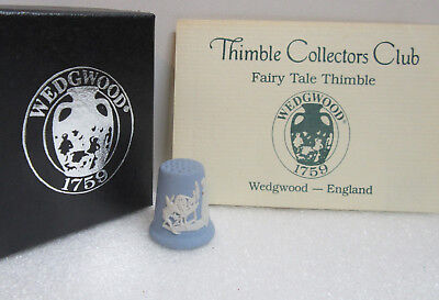 Thimble Collectors Club ~ FAIRY TALE THIMBLE ~ Wedgwood England