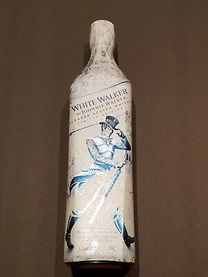 White Walker By Johnnie Walker Got Game Of Thrones Limited Edition HboUnopened
