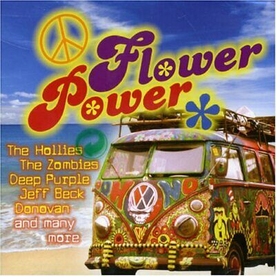 Various - Flower Power - Various CD UWVG The Cheap Fast Free Post The Cheap Fast