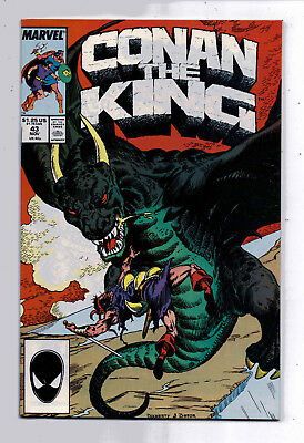Conan the King #43 and #44, Marvel, 1987, VF+ condition, Robert E Howard