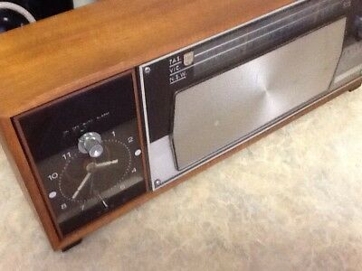 Vintage Philips Philadelphia Rare RS300 Model MM 2.01 With Clock Face