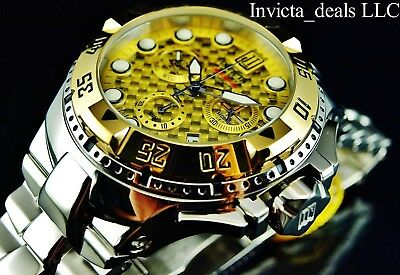 Invicta Men's 50mm JT Reserve Excursion Swiss Made Chronograph LIMITED Ed Watch