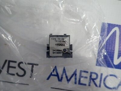 TR16B1600 General Electric GE 1600 amp Rating Plug for AKR 1600 amp