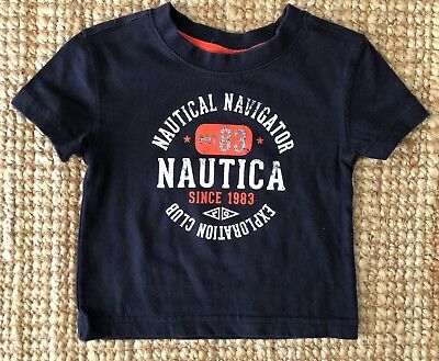 Baby Boys Nautica Tshirt Top - size 00 3-6 months