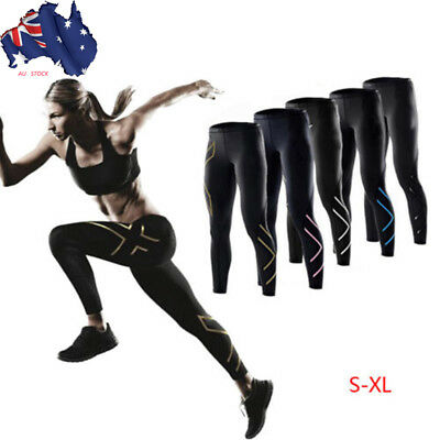 Womens Compression Tights Lightweight Base Layer unning Sports Long Pants S-XL R