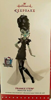 Hallmark 2015 Keepsake FRANKIE STEIN Monster High Christmas Ornament Halloween