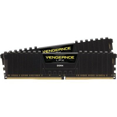 Corsair Vengeance LPX 32GB (2x16GB) DDR4 DRAM 2400MHz C14 Memory Kit - Black