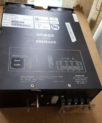 Omega 1000 Coutant E70300 Power Supply (Br2.3B25)