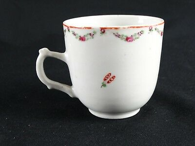 RARE Antique Chinese Jiaqing c1796-1820 Export ware hand painted Teacup China