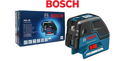 Bosch GCL 25 5-Point Self Leveling Alignment Laser Crossline 4 Mode 1.3lbs / UPS