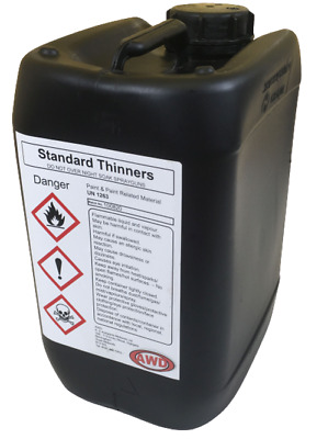 New 25 Litres Standard Thinners Cellulose Spray Gun Cleaner and Paint Thinner