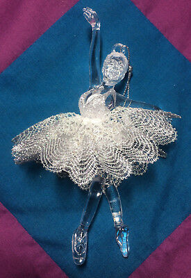Torchon Silver Ballerina Kit - Original Design by Harlequin Lace